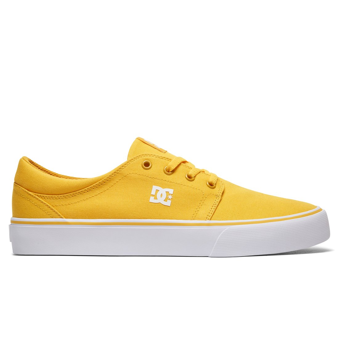 DC Shoes TRASE - Skate shoes - yellow/gold