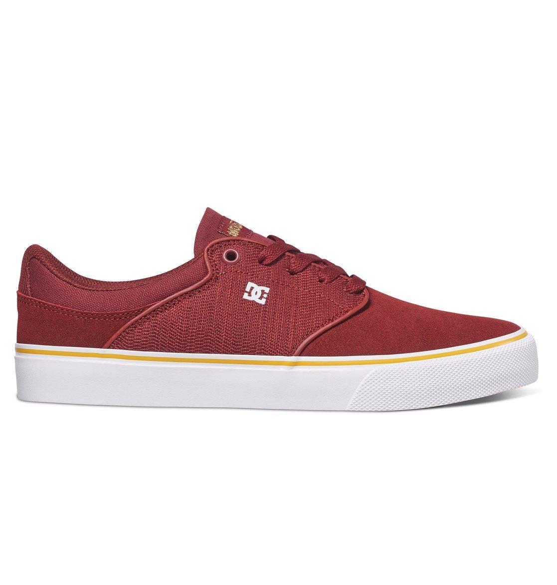 Mens Dc Mikey Taylor Vulc Sneakers Burgundy UTP76622