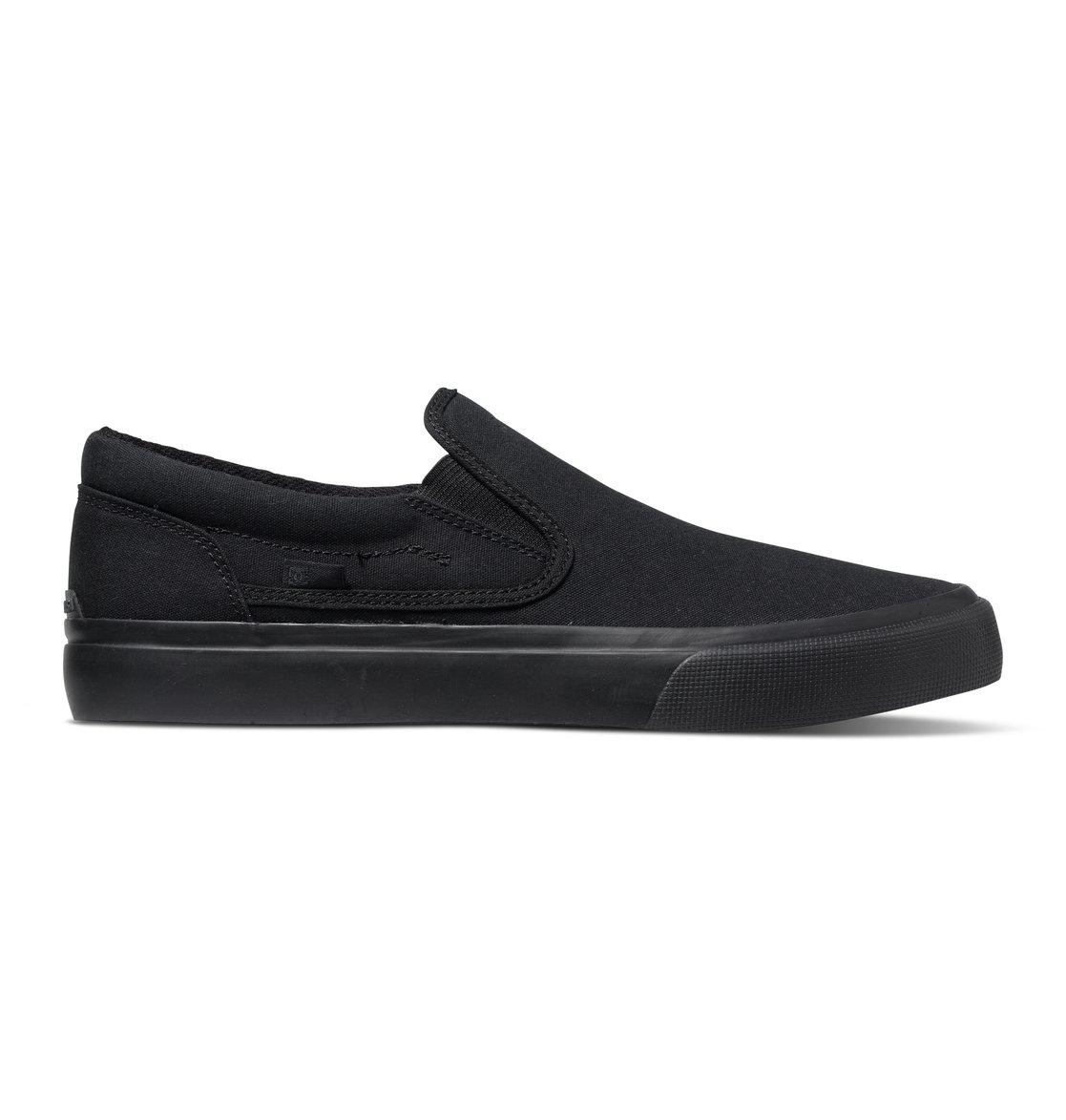DC - Herren Trase Slip-On TX Slip On Schuhe, Black 3, 38 EU