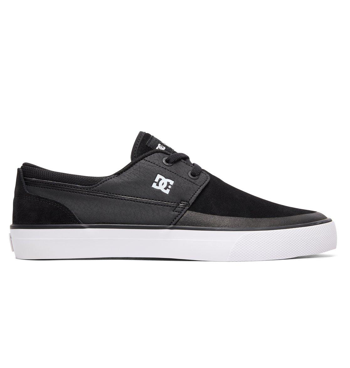 DC Shoes WES KREMER black blue white Noir - Livraison Gratuite avec - Chaussures Chaussures de Skate Homme