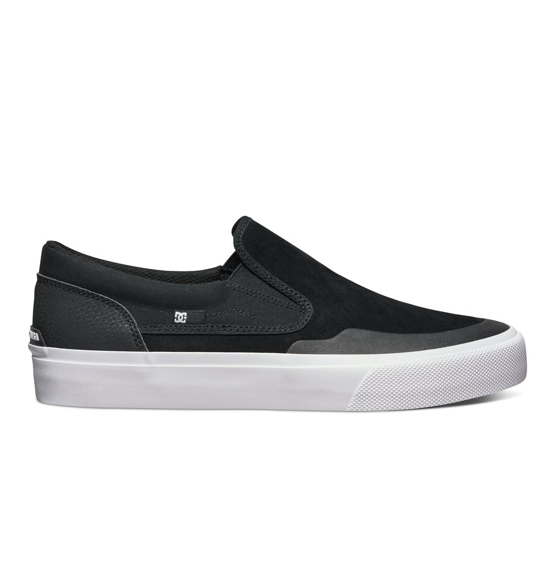 DC - - Frauen Trase Slip-On X Skate-Schuhe, EUR: 42.5, Black/White