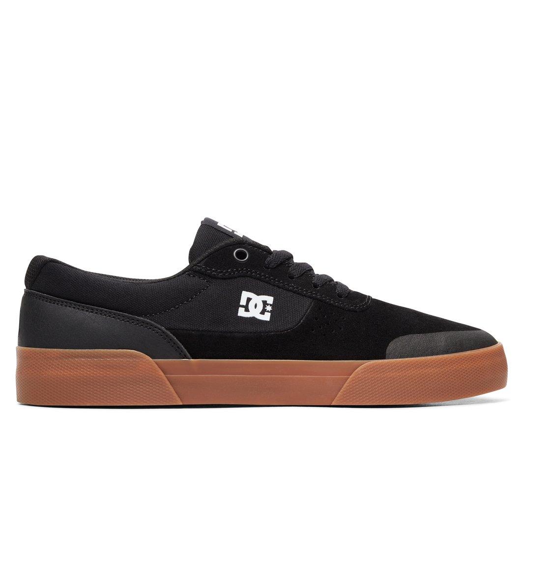 0 Switch Plus S - Skate Shoes for Men Black ADYS300399 DC Shoes a421949a64