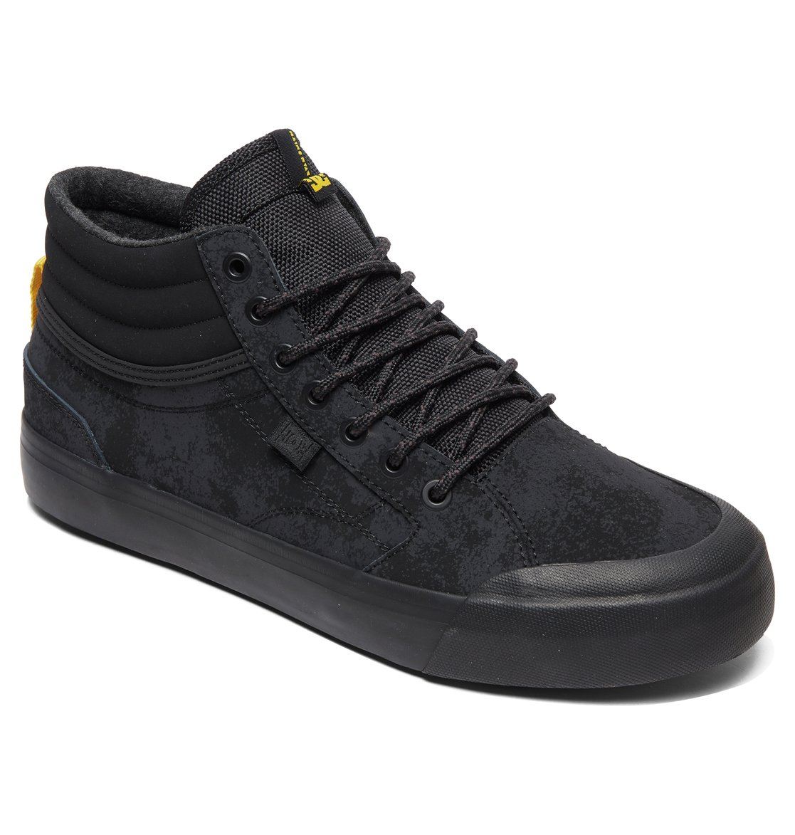 1 Evan Smith Hi WNT - Winterized High-Top Shoes for Men Black ADYS300412 DC 73c6b60e6faa5