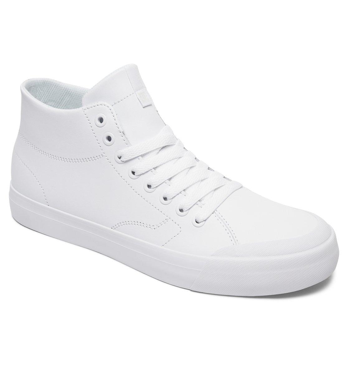 Chaussures Homme DC EVAN SMITH HI white 20XAdGB4