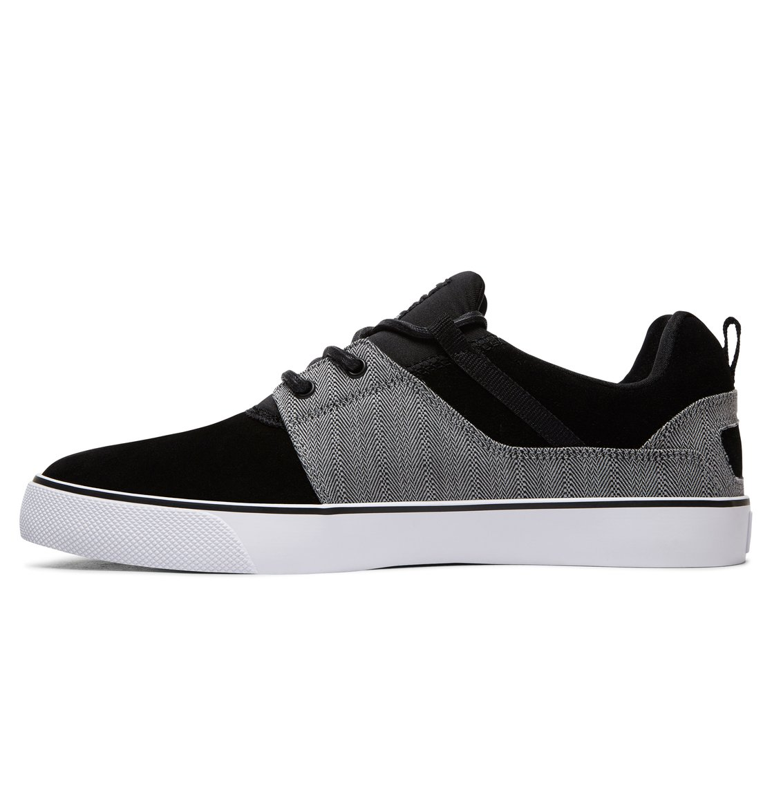 DC Shoes Men's Heathrow Shoes Low Top Shoes Black -13 sAUimx