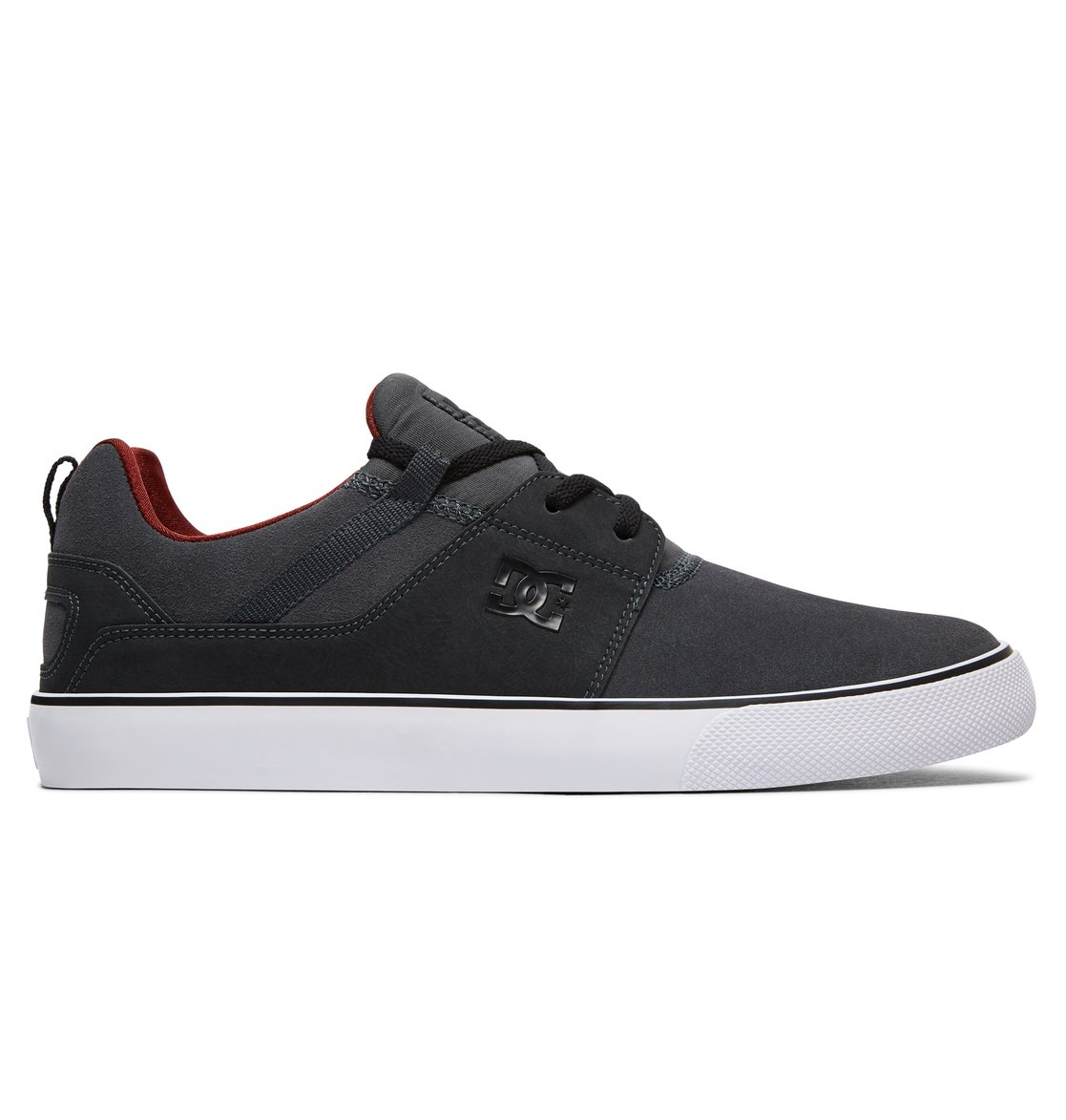 DC Shoes Heathrow Vulc SE, Zapatillas para Hombre, Schwarz (Black/Black/Dk Grey Bkd), 42 EU