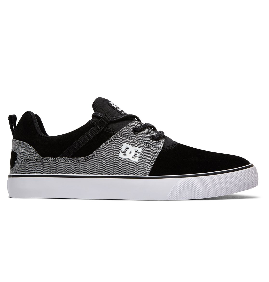 DC Shoes Heathrow Vulc Se, Baskets Homme, Schwarz (Black/DK Grey Bkd), 43 EU