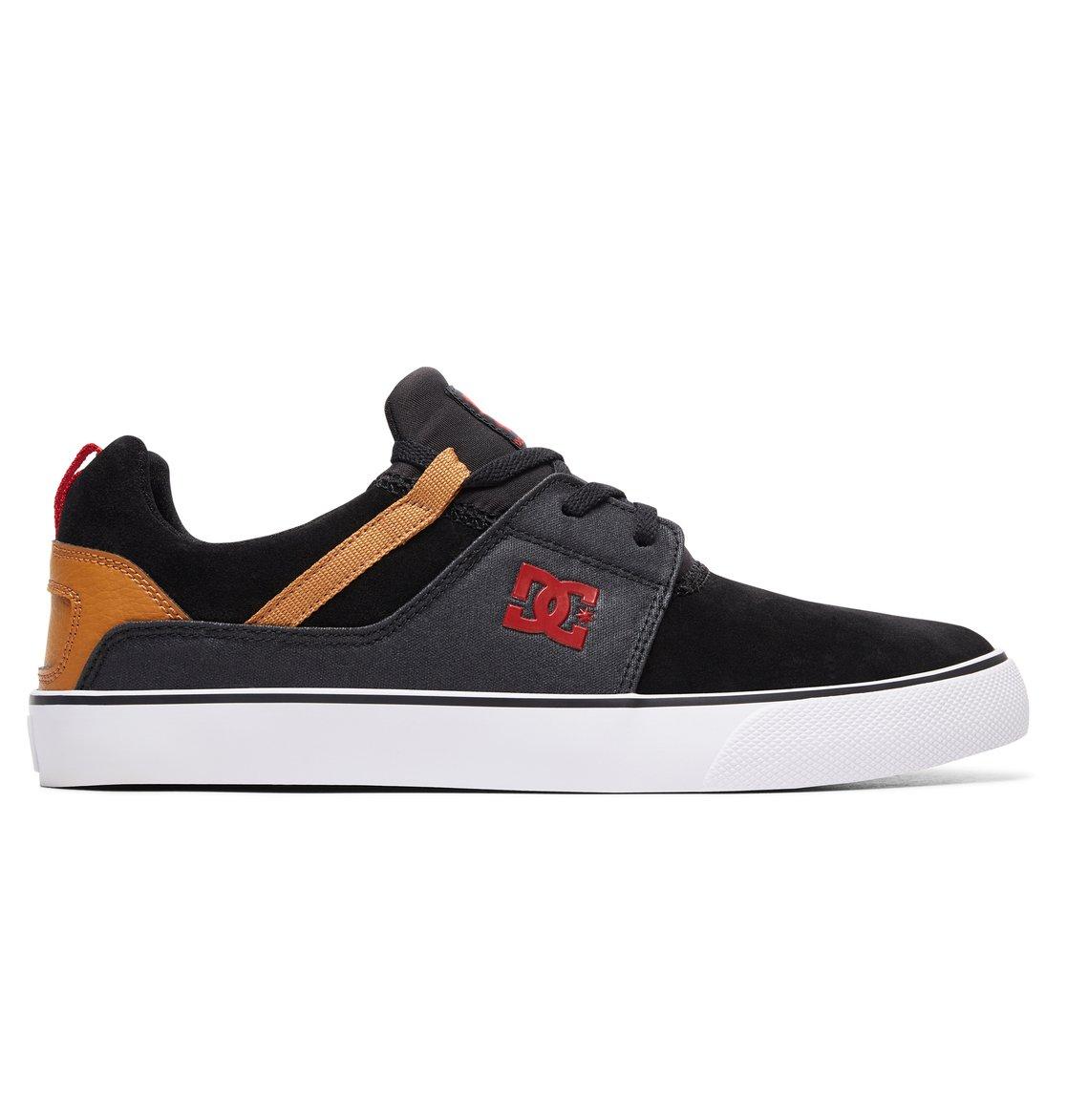 DC Shoes Heathrow Vulc, Chaussures de Skateboard Homme, Noir (Black Bl0), 47 EU