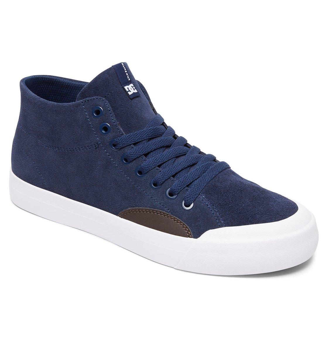 933c1432992bf 1 Evan Smith Hi Zero S - Chaussures de skate montantes pour Homme Bleu  ADYS300477 DC