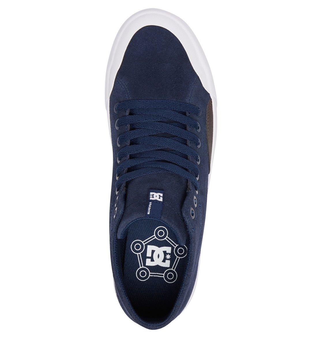 d9e3ab8b587c2 3 Evan Smith Hi Zero S - Chaussures de skate montantes pour Homme Bleu  ADYS300477 DC