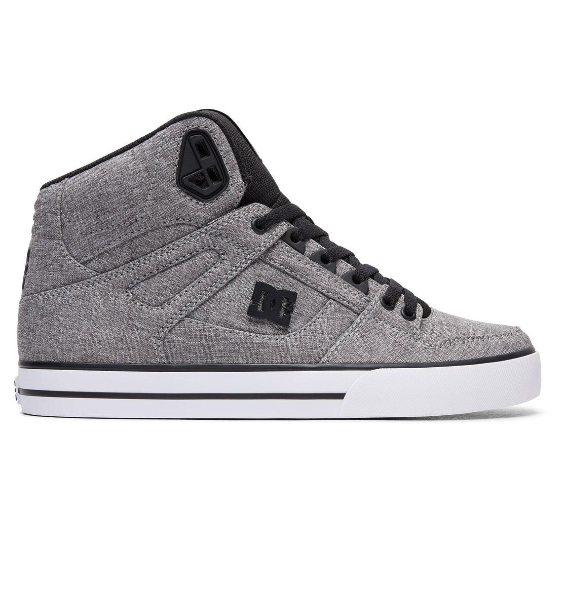 4d14a74980a35 0 Spartan High WC TX SE High Top Shoes Black ADYS400004 DC Shoes