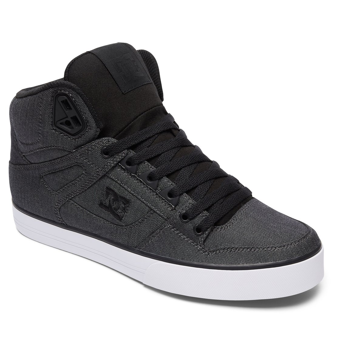 DC Shoes Spartan High WC TX Se Zapatillas Hombre, Gris (Grey Resin Rinse), 27.5 EU (9.5 UK)