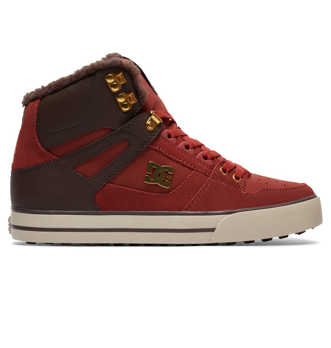 Pure High WC WNT - Chaussures montantes - Marron - DC Shoes PkUbCsId