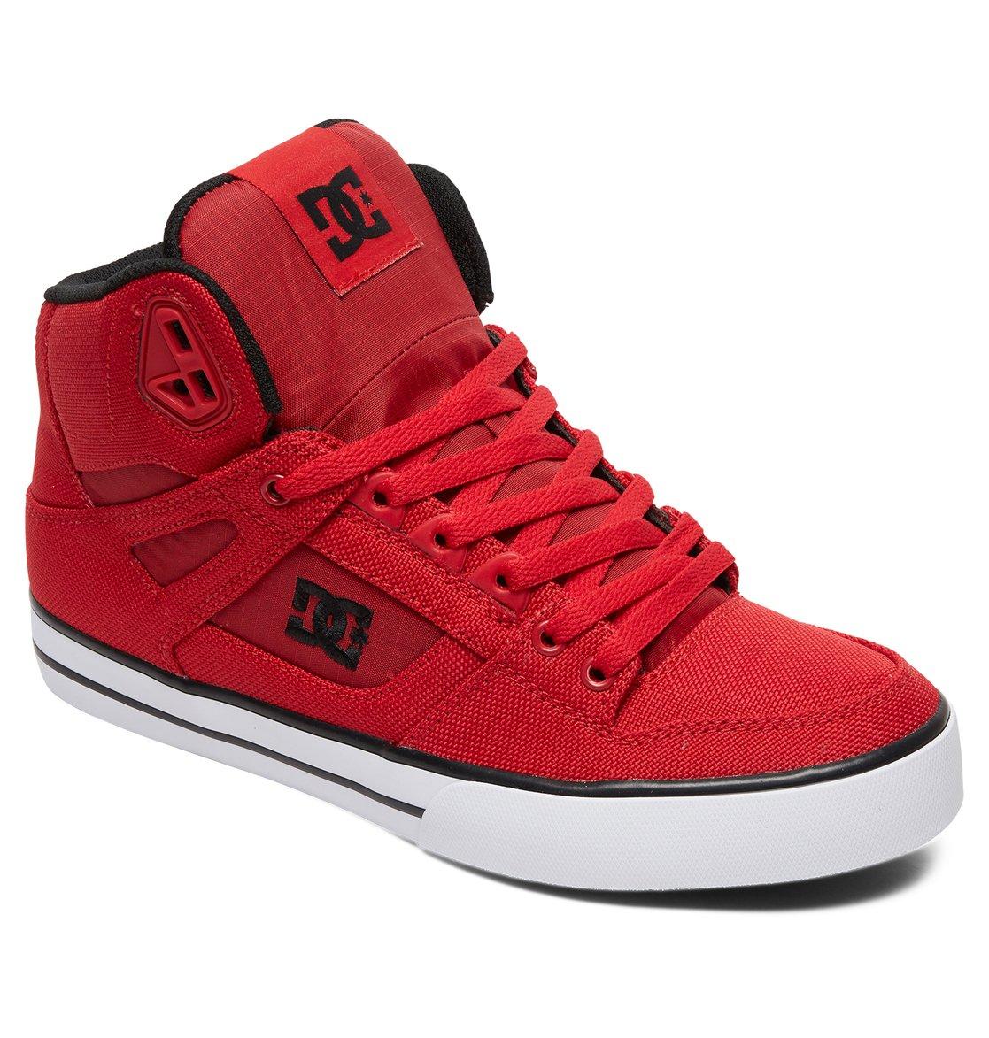 a68486c5f0f5f 1 Pure WC TX SE - Chaussures montantes pour Homme Rouge ADYS400046 DC Shoes