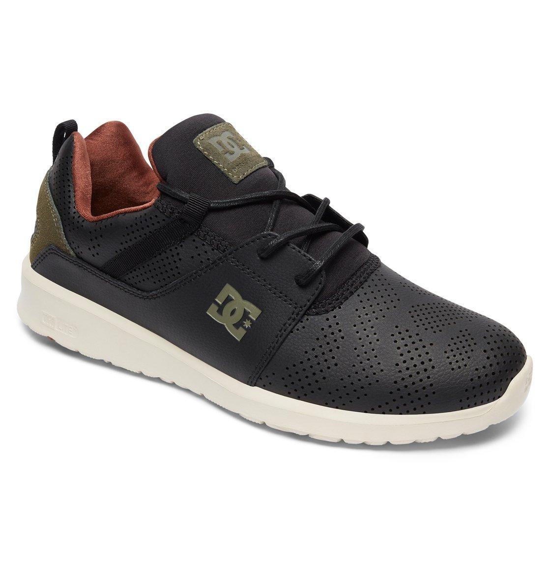 DC Shoes Heathrow Se, Baskets Homme, Noir (Black Wash BW8), 44 EU