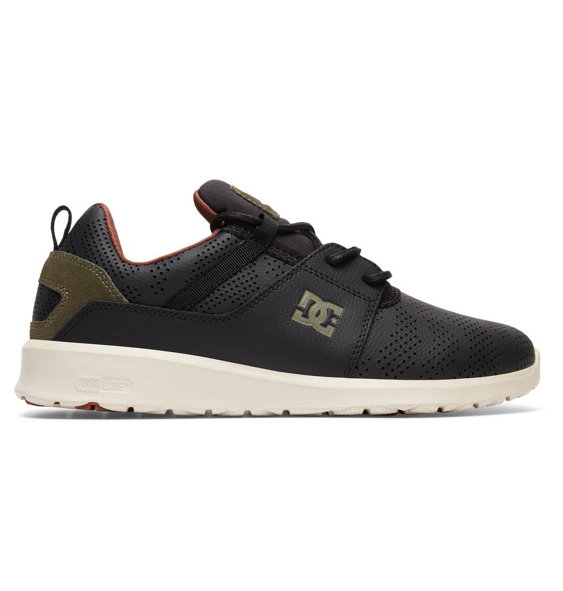 Chaussures DC Shoes Heathrow SE noires Casual homme qym15