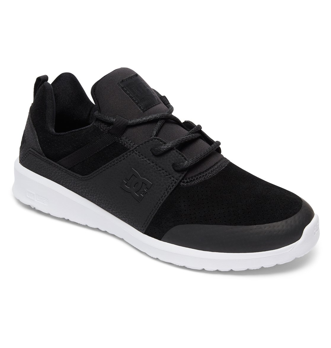DC Shoes HEATHROW - Skate shoes - black LVUUQsSzaj
