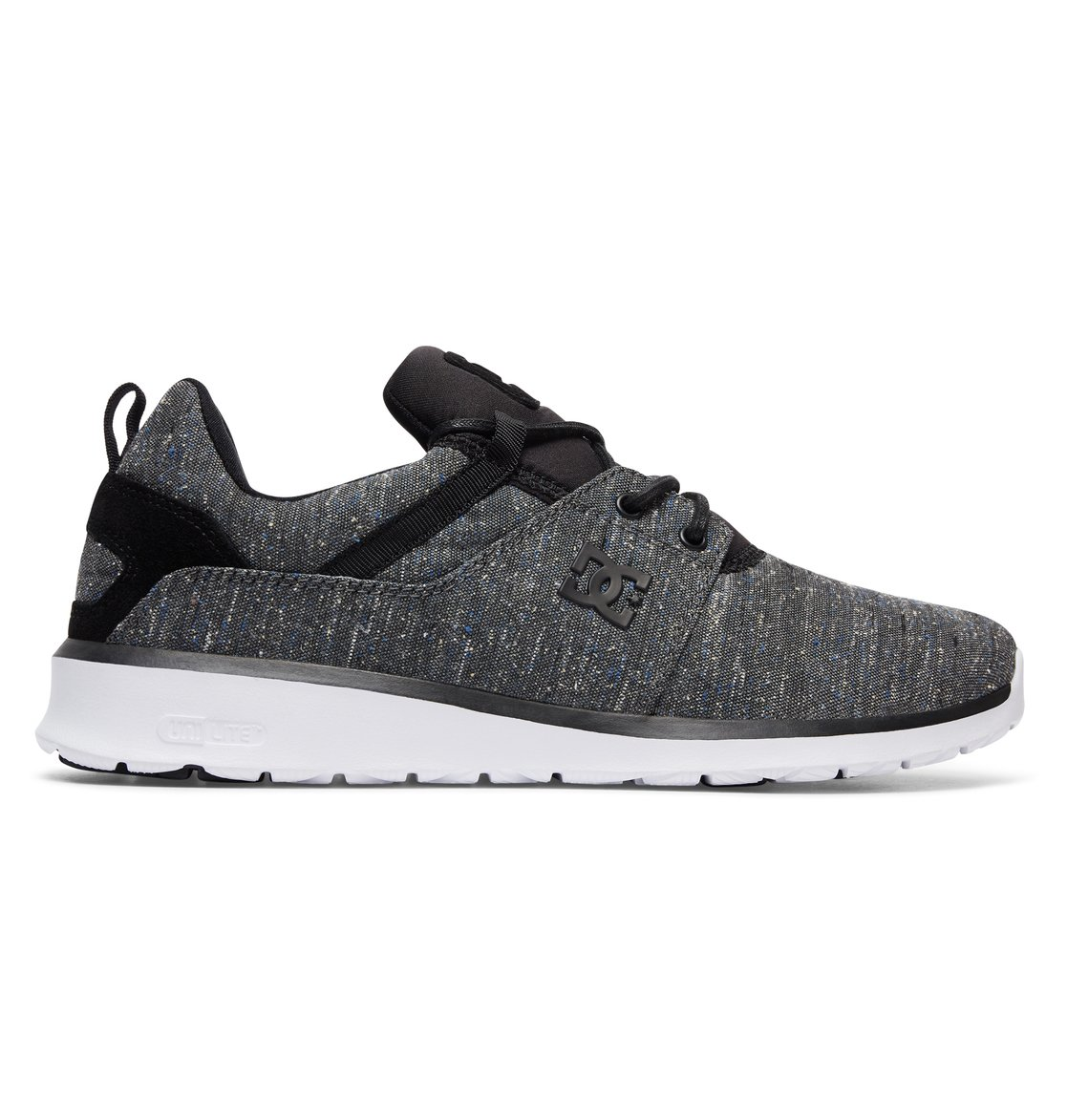 DC Shoes HEATHROW - Skate shoes - black RQBTLdc