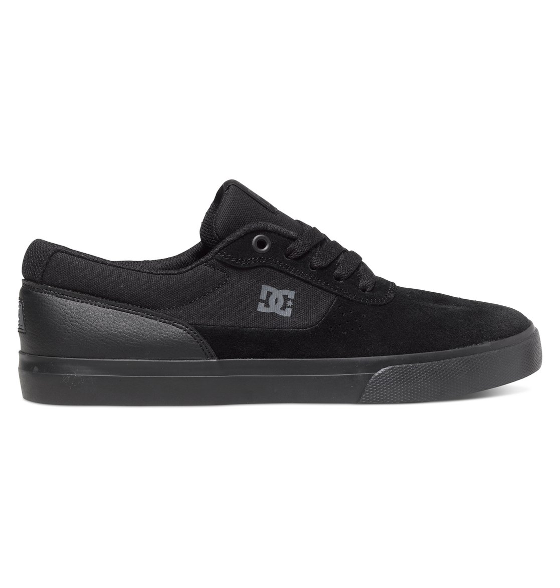 de10f3ca5a 0 Tênis masculino Switch S M Preto BRADYS300104 DC Shoes