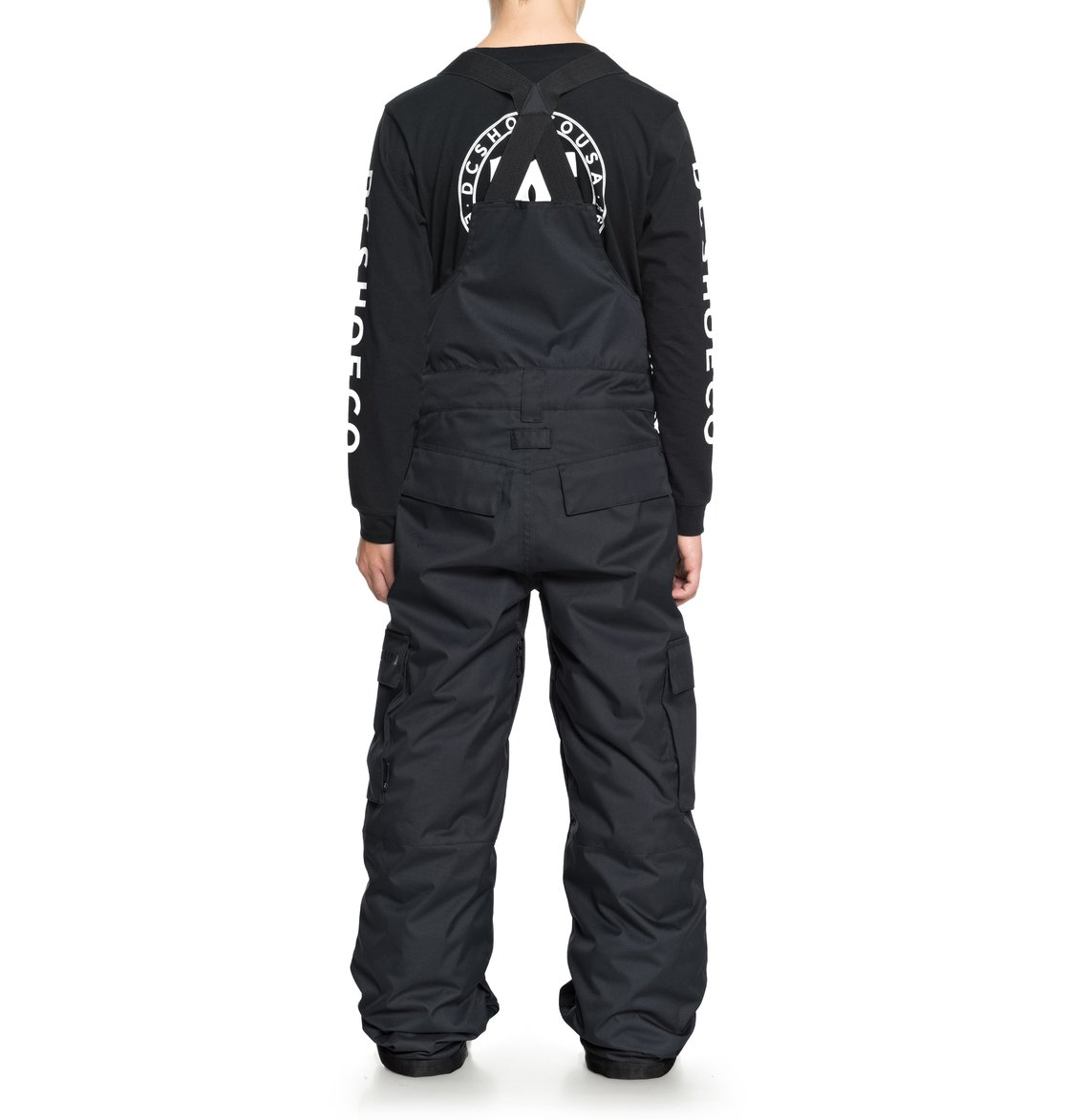 DC-Shoes-Banshee-Snow-Bib-Pants-for-Boys-8-16-Schneelatzhose-Jungen-8-16