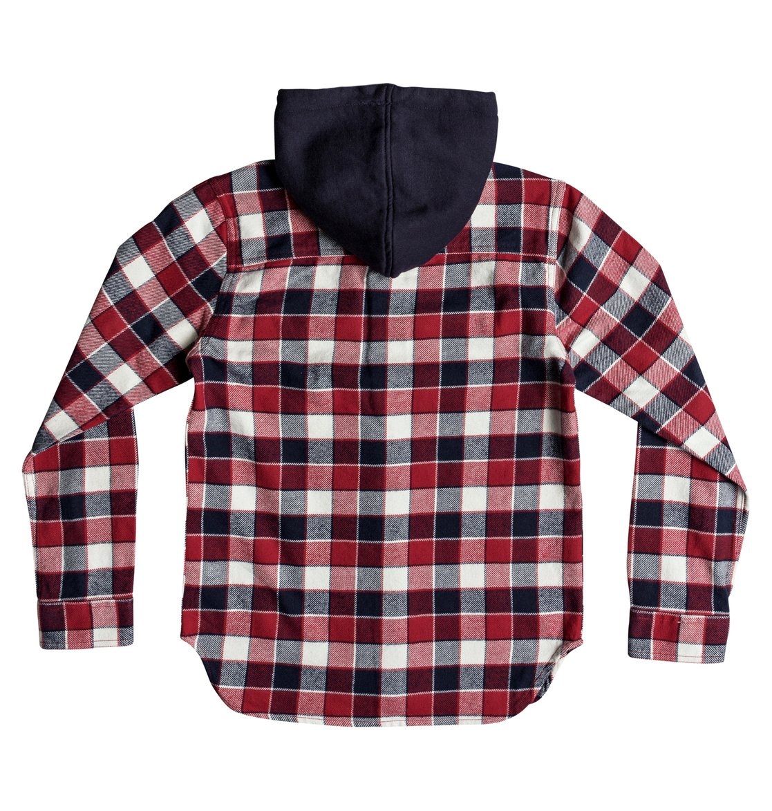 bc0120b6ac77 DC Shoes™ Boy's 8-16 Runnels Long Sleeve Hooded Flannel Shirt ...
