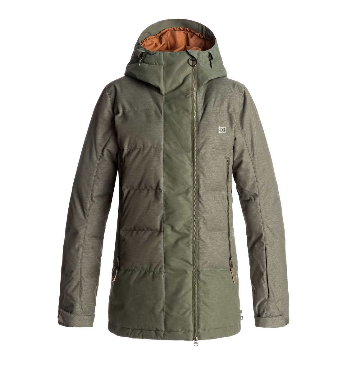 0 Сноубордическая куртка Liberty Зеленый EDJTJ03023 DC Shoes f11239fd632
