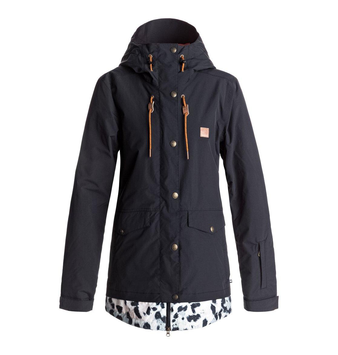 0 Сноубордическая куртка Riji Черный EDJTJ03026 DC Shoes 786f6e5bc23