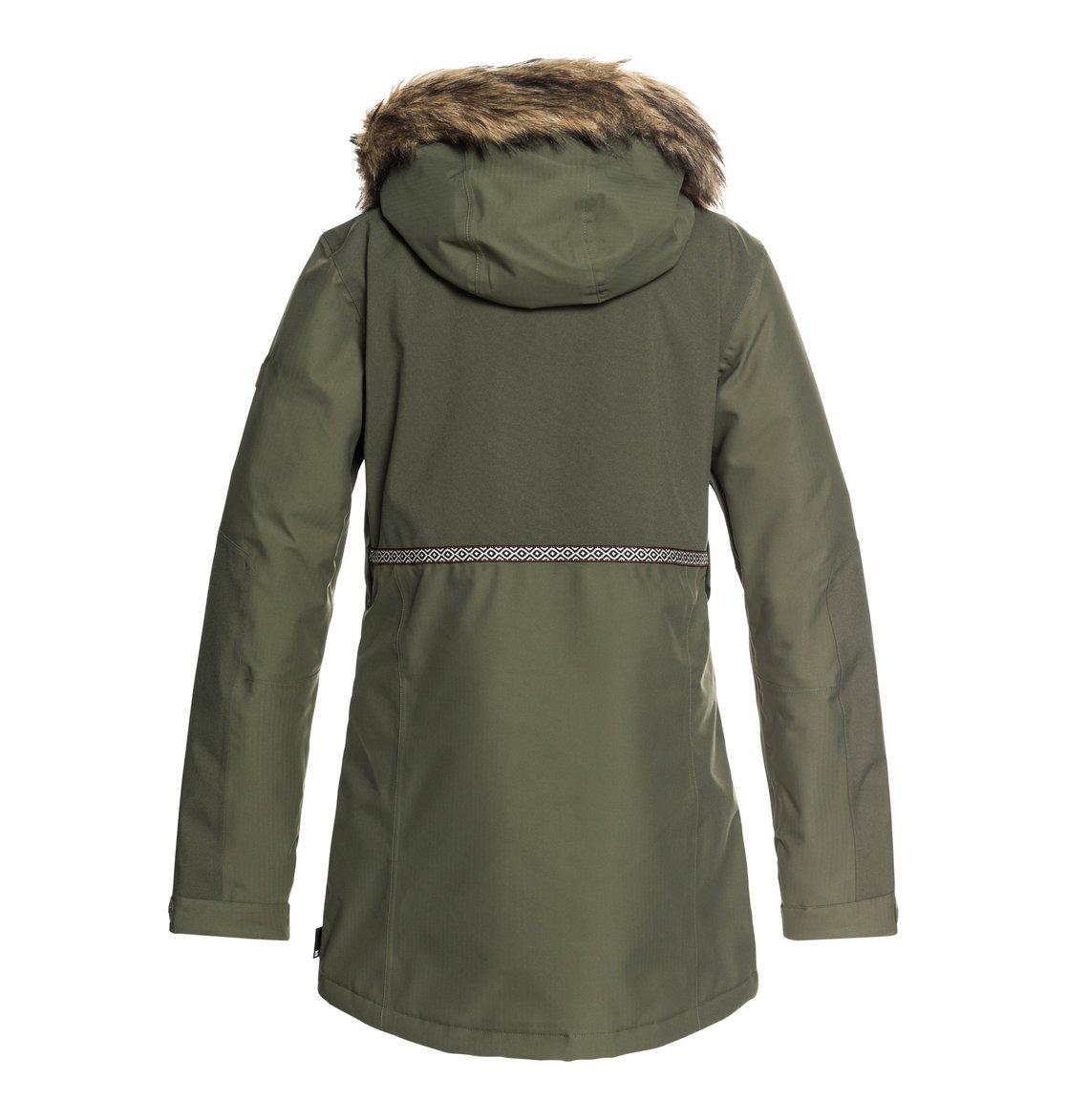 1 Panoramic - Chaqueta parka para nieve para Mujer Verde EDJTJ03032 DC Shoes 14ae1330a01b3
