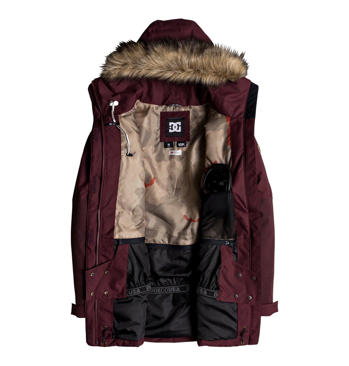 2 Panoramic - Chaqueta parka para nieve para Mujer Verde EDJTJ03032 DC Shoes d88df32ac2805