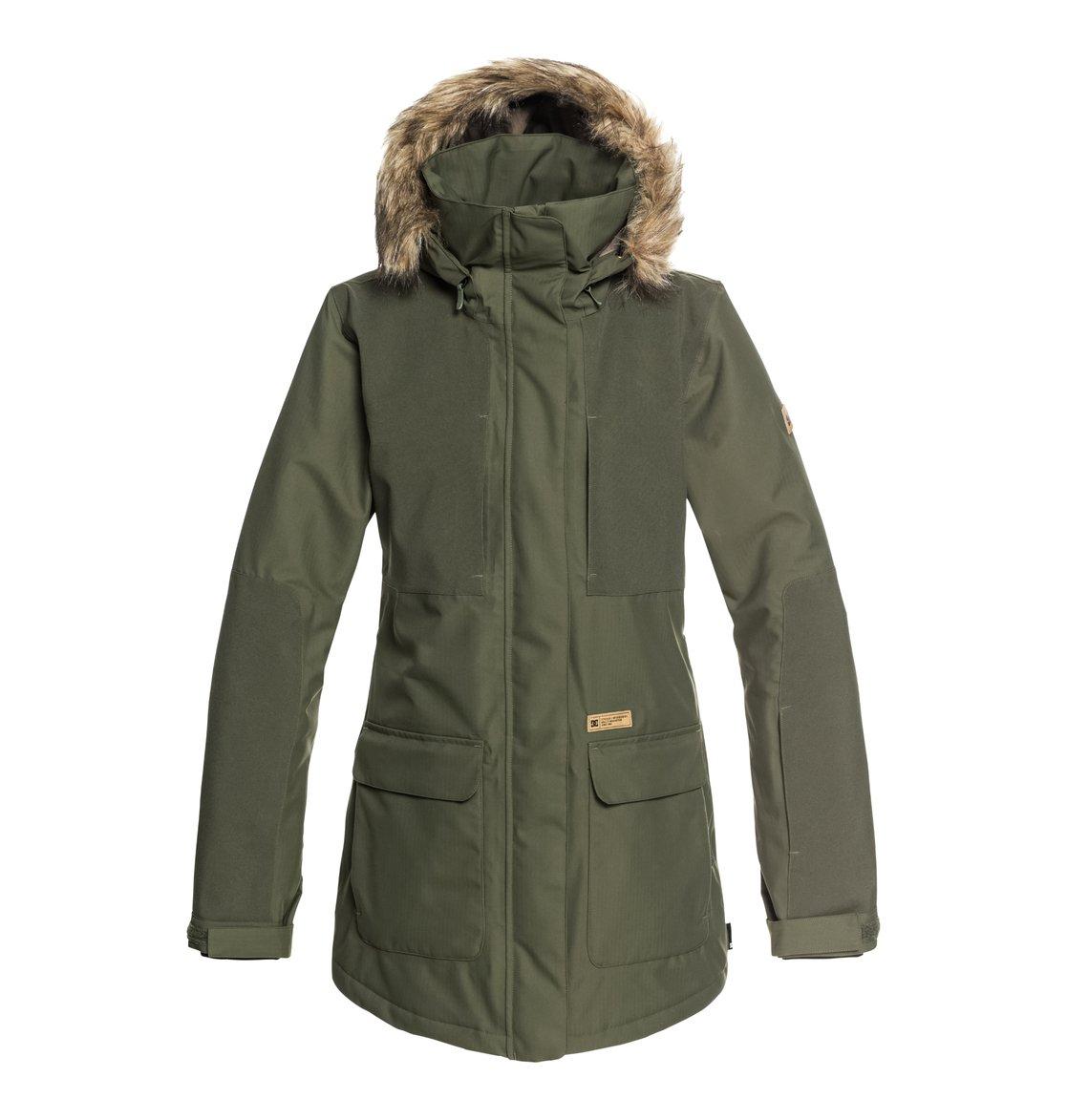 0 Panoramic - Chaqueta parka para nieve para Mujer Verde EDJTJ03032 DC Shoes 8b408deecf074