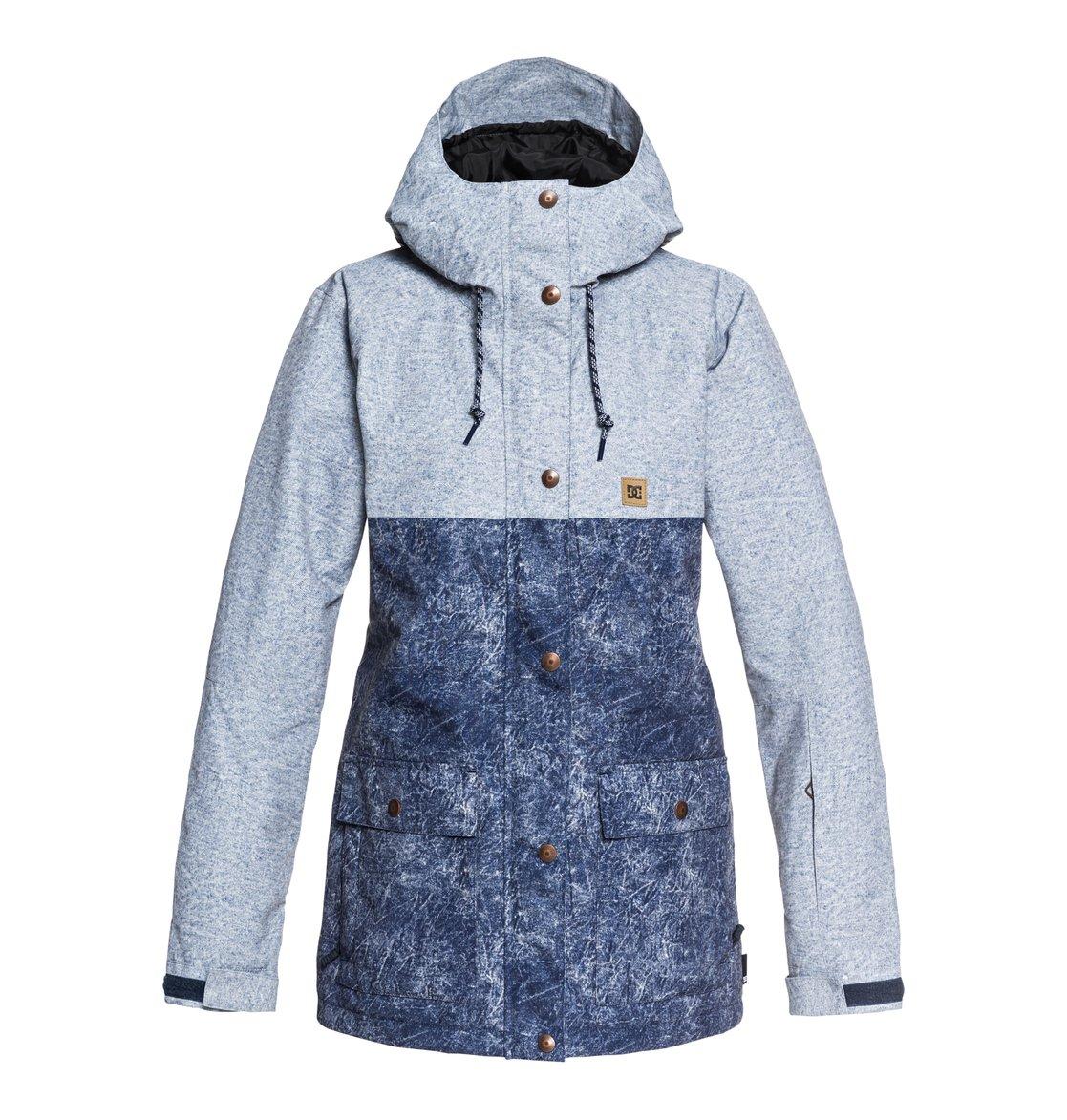 f7547fc5dbd 0 Cruiser - Parka Snow Jacket for Women Blue EDJTJ03036 DC Shoes