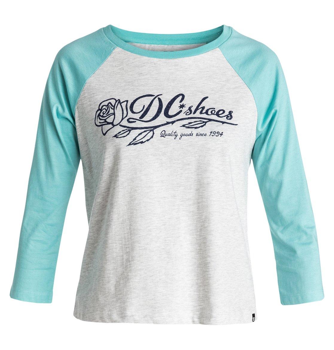 9bf2b6e651 0 T-Rose Raglan - Crop T-shirt EDJZT03078 DC Shoes