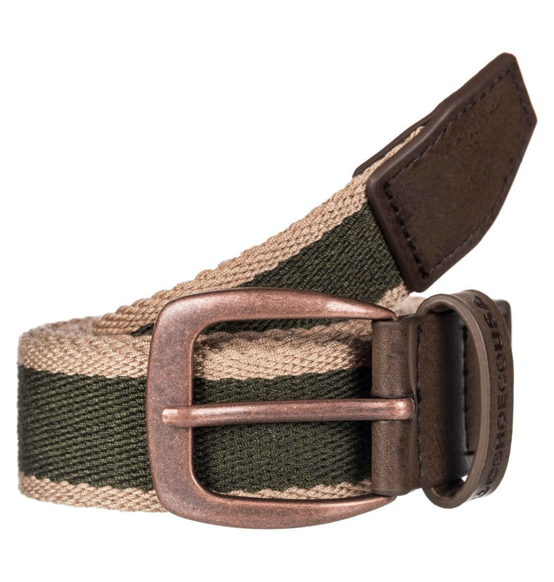 DC-Shoes-Duel-Tone-Webbing-Belt-Cinturon-De-Correa-Hombre