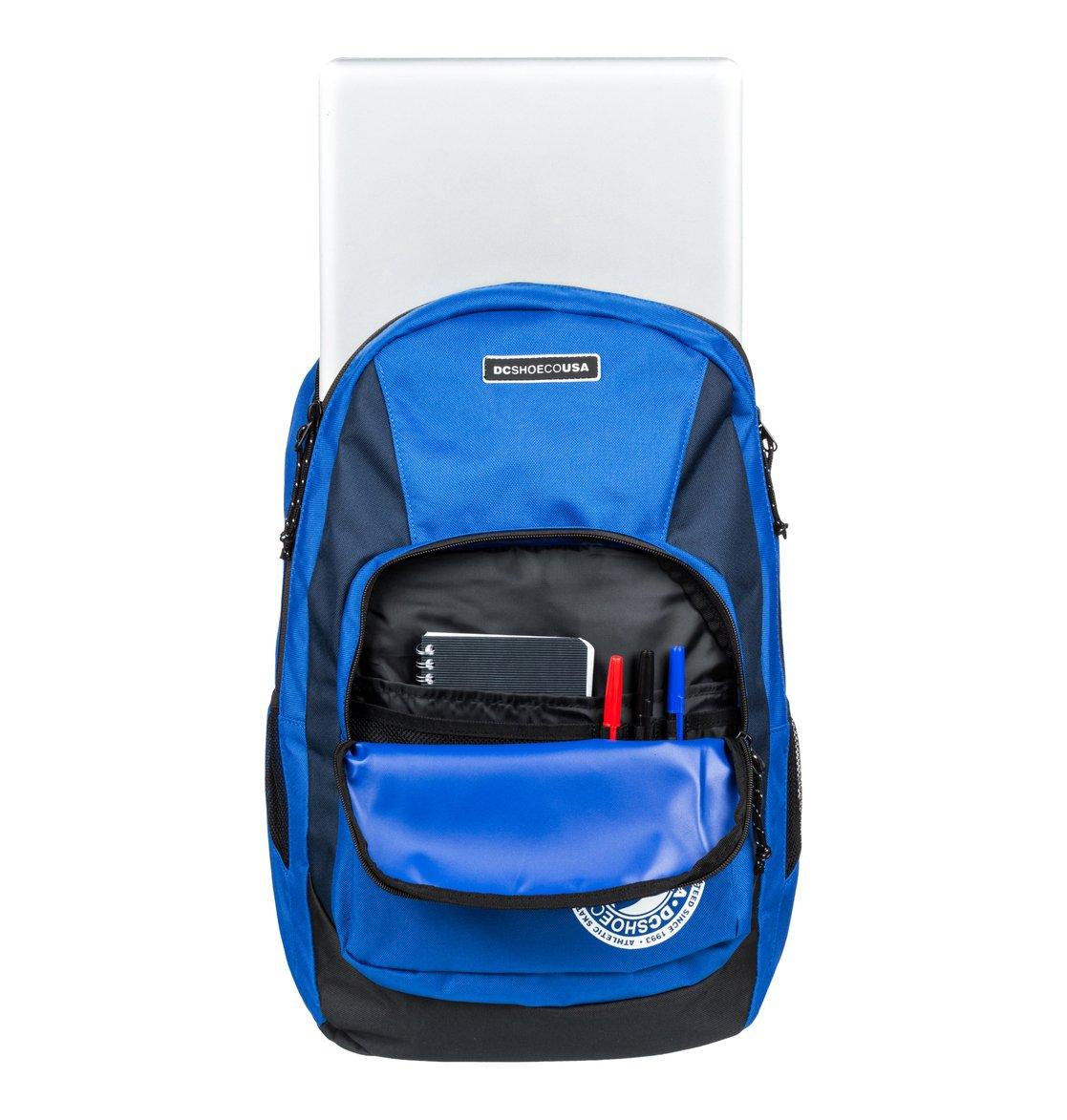 4cb7b5eeeb 3 The Locker 23L Medium Backpack Blue EDYBP03176 DC Shoes