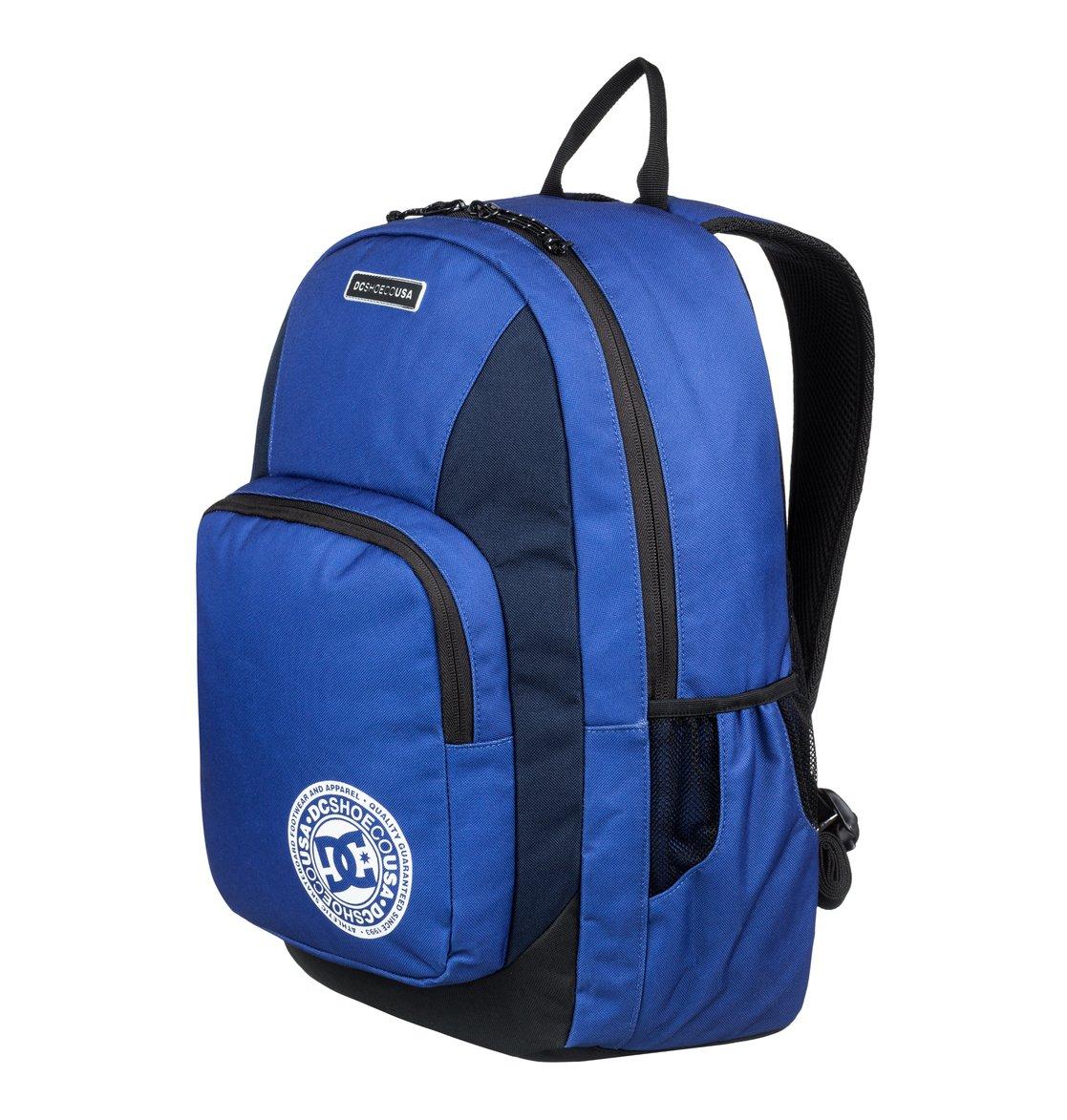 c7ac748fc6 1 The Locker 23L Medium Backpack Blue EDYBP03176 DC Shoes