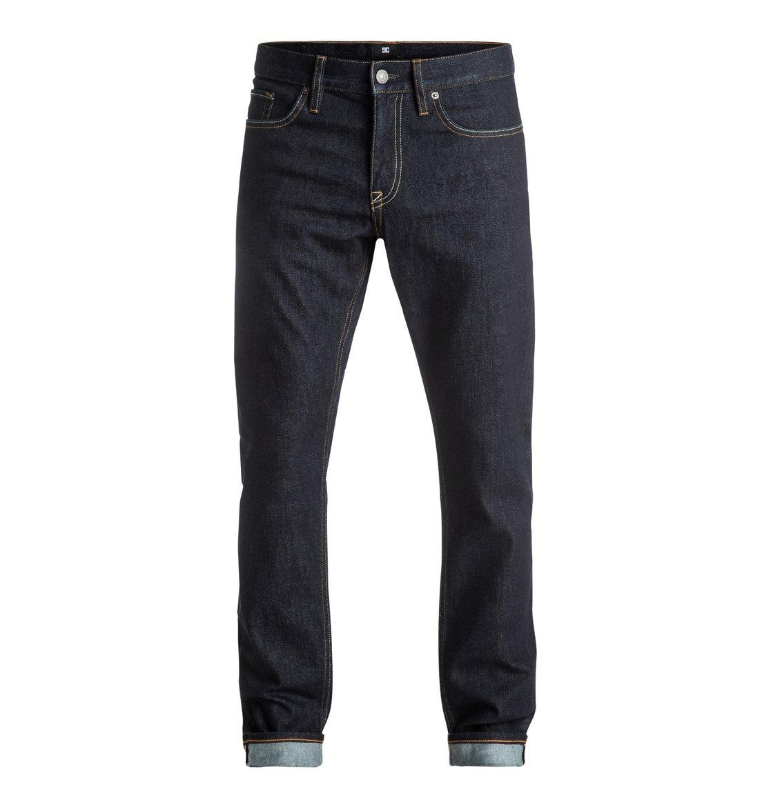 e3bcea34d0362 0 Men s Worker Indigo Rinse Slim Fit Jeans EDYDP03302 DC Shoes