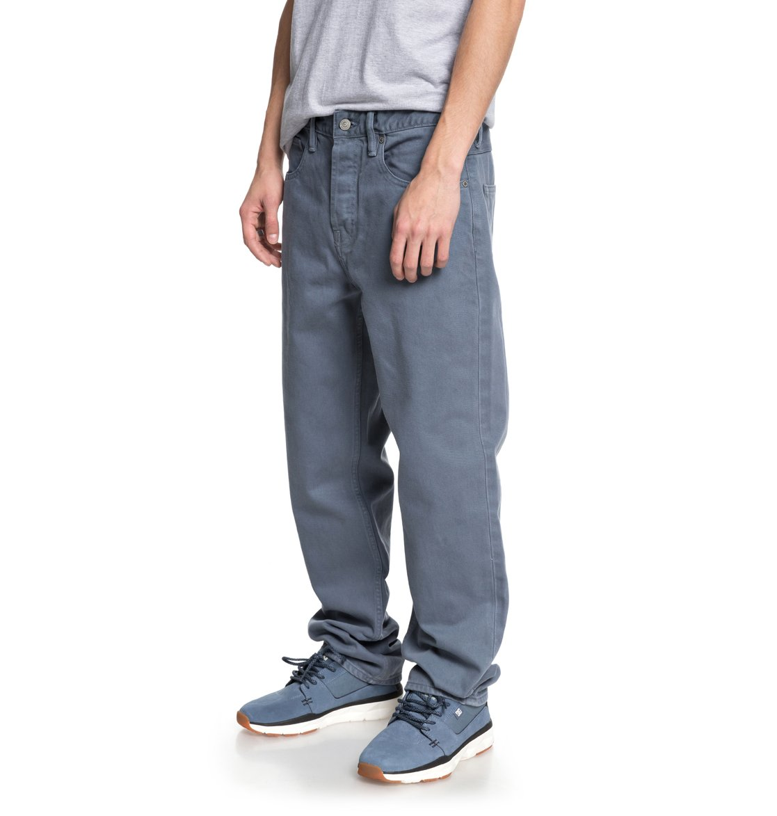 worker relaxed fit jeans for men edydp03356 dc shoes