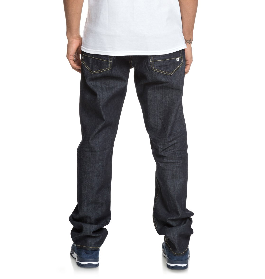 worker relaxed fit jeans for men edydp03378 dc shoes