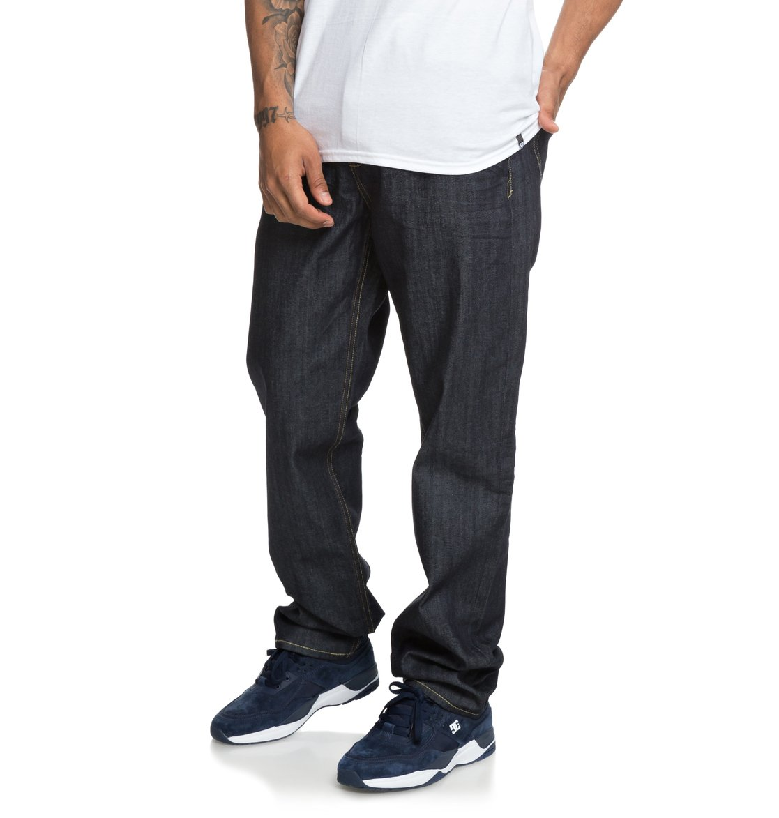 worker relaxed fit jeans for men 3613373858986 dc shoes