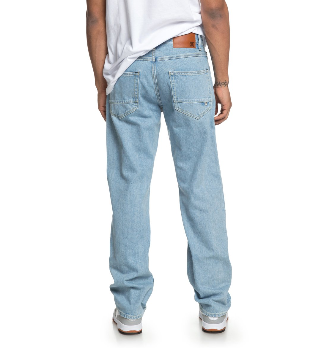 worker relaxed fit jeans for men edydp03380 dc shoes