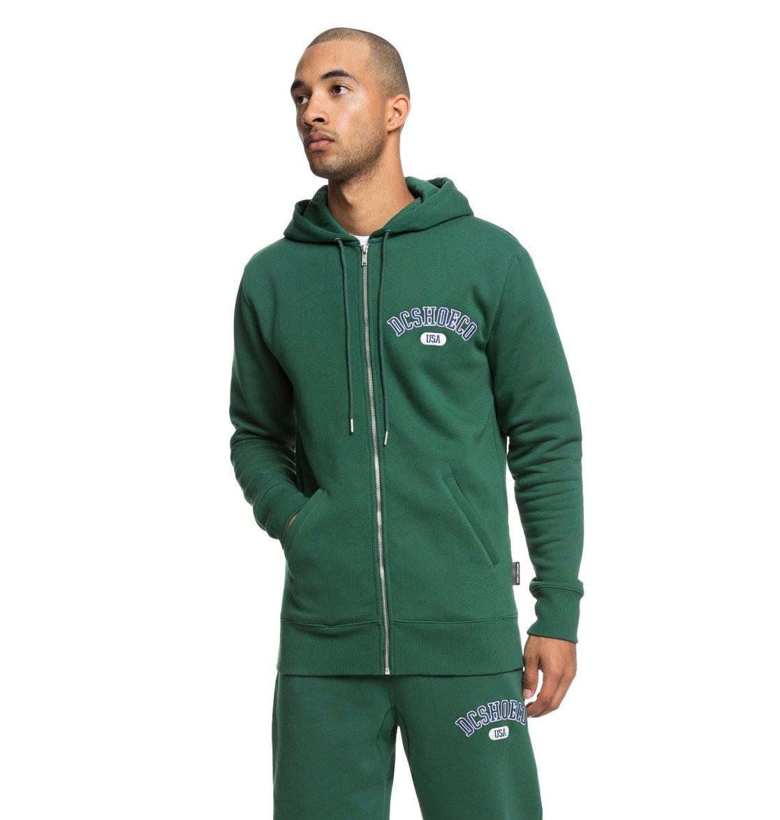729f58d6dea64 Glenridge - Sweat à capuche zippé pour Homme
