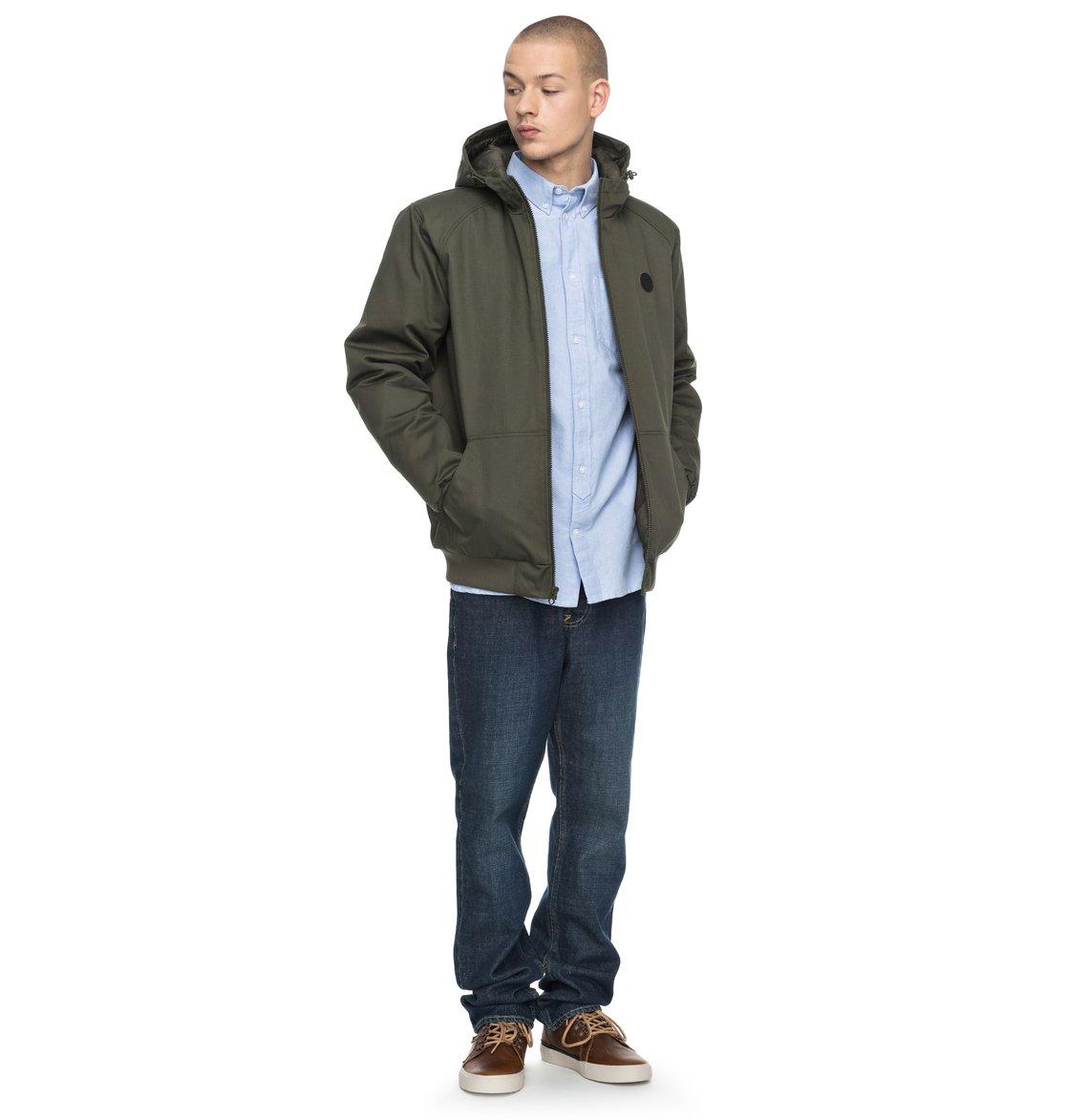 DC-Shoes-Ellis-Hooded-Bomber-Jacket-Veste-bomber-a-capuche-Homme