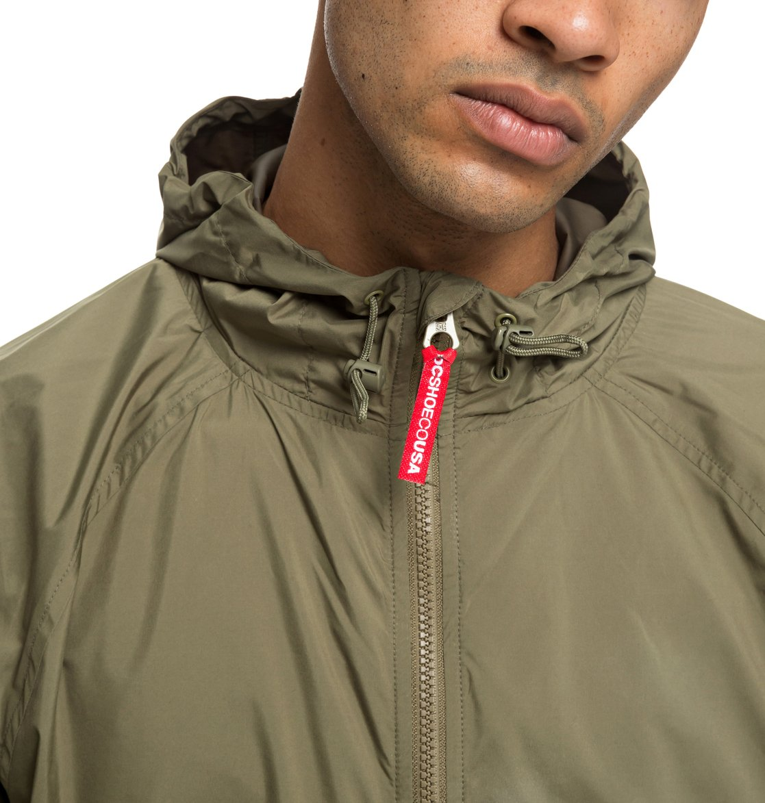 DC Shoes™ Sedgefield Water Resistant Hooded Anorak EDYJK03167  8e387ab90351