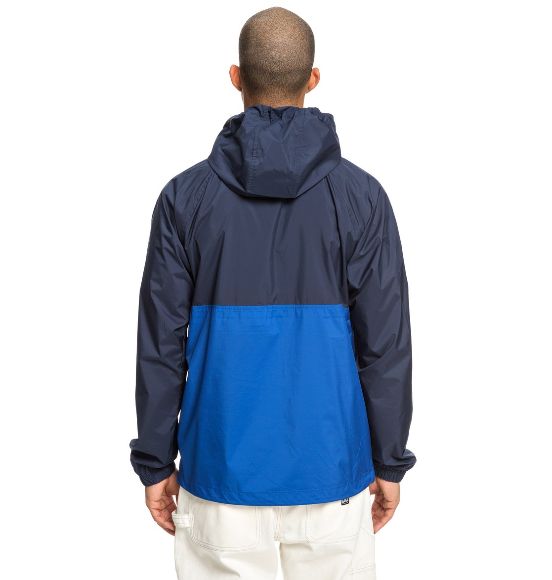 7 Sedgefield Water Resistant Hooded Anorak Blue EDYJK03167 DC Shoes 76dce7b76bdc