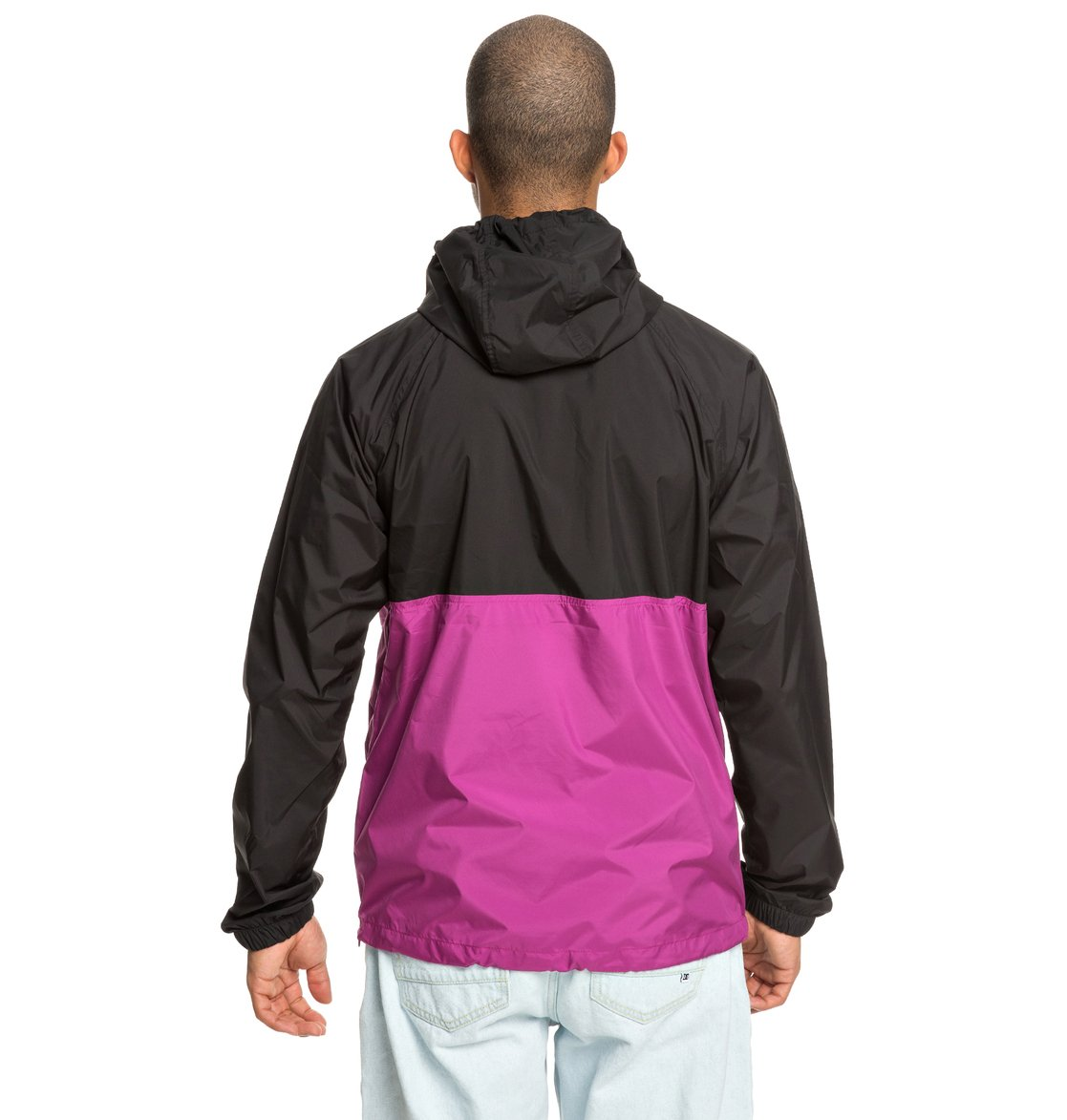 5 Sedgefield - Water Resistant Hooded Anorak Pink EDYJK03167 DC Shoes eb8bab978475