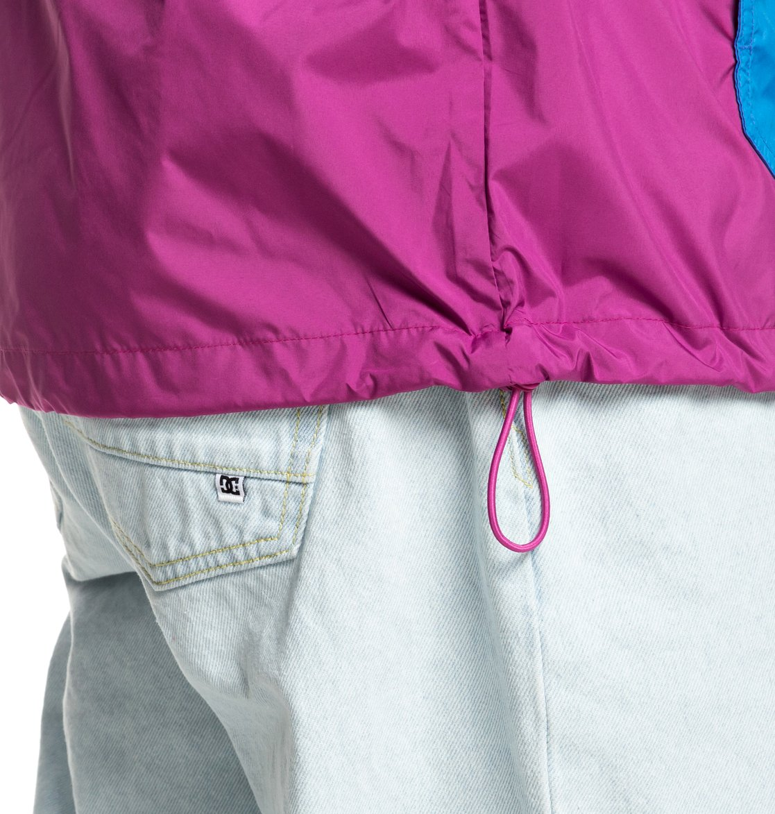 3 Sedgefield - Water Resistant Hooded Anorak Pink EDYJK03167 DC Shoes f4d23c3c808f