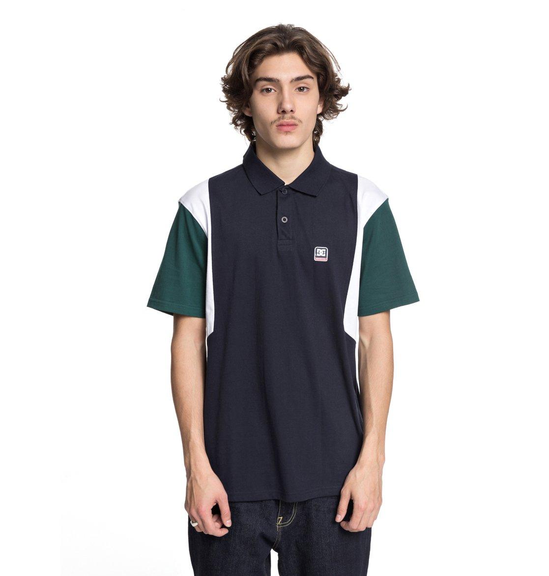 0 Fenton - Camisa Polo para Hombre Azul EDYKT03388 DC Shoes f408bcfe608