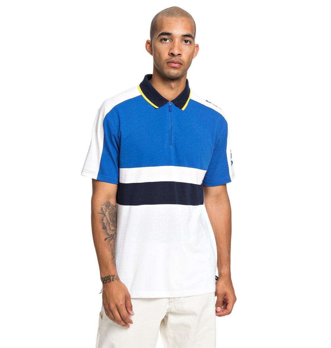 0 Walkley - Camisa Polo de Manga Corta para Hombre Azul EDYKT03449 DC Shoes 780073ad8e7