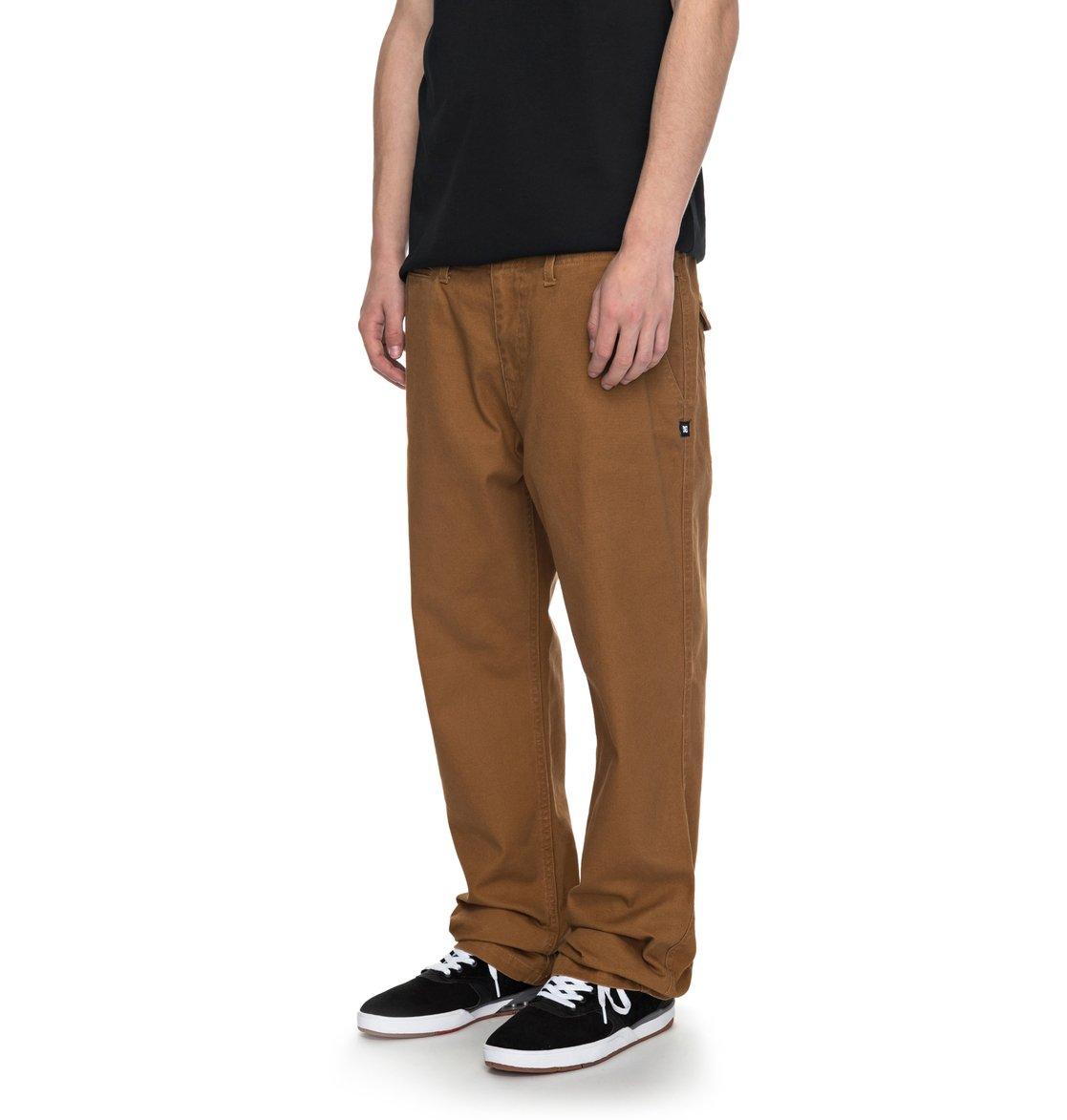 Hombre 1 lona Pantalones DC Shoes de EDYNP03120 para Uncompromised qHHZxwX