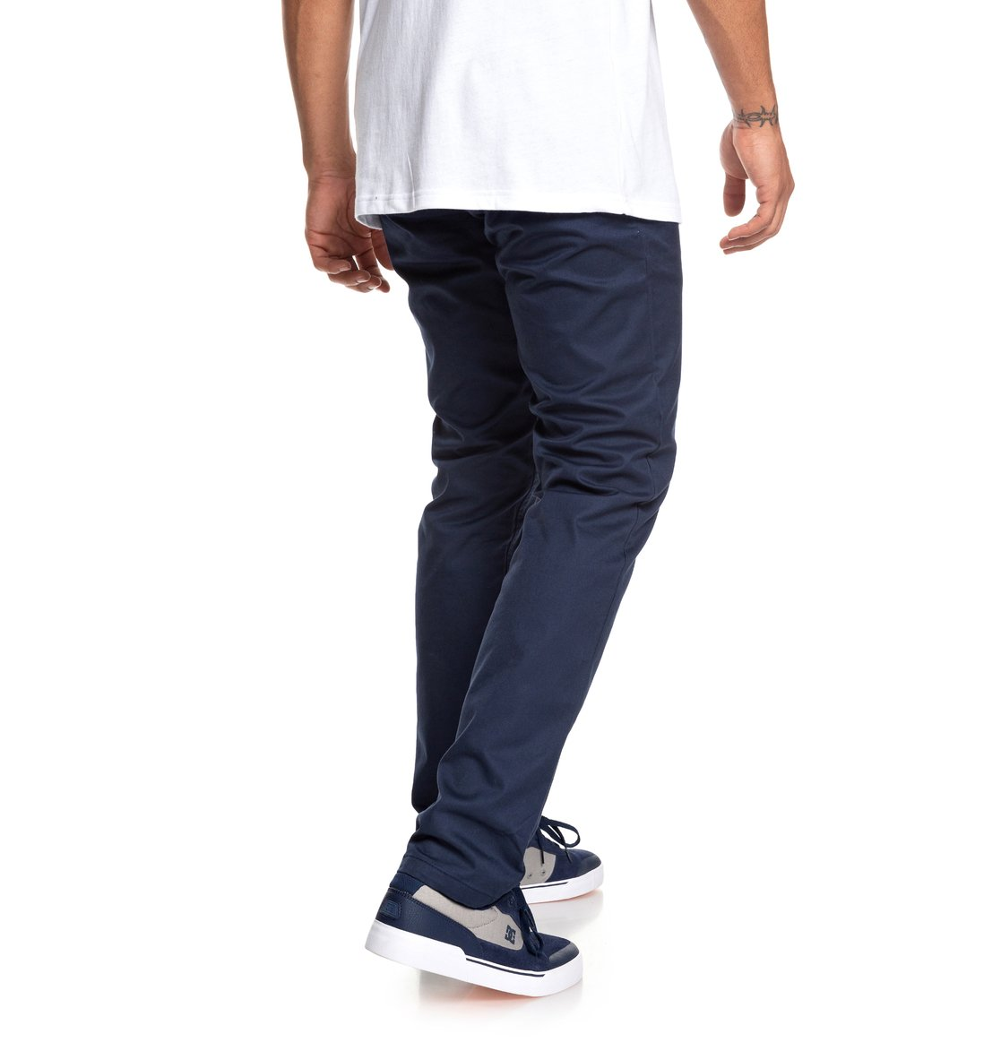 5 Worker - Slim Fit Chinos for Men Blue EDYNP03135 DC Shoes 57ff381385